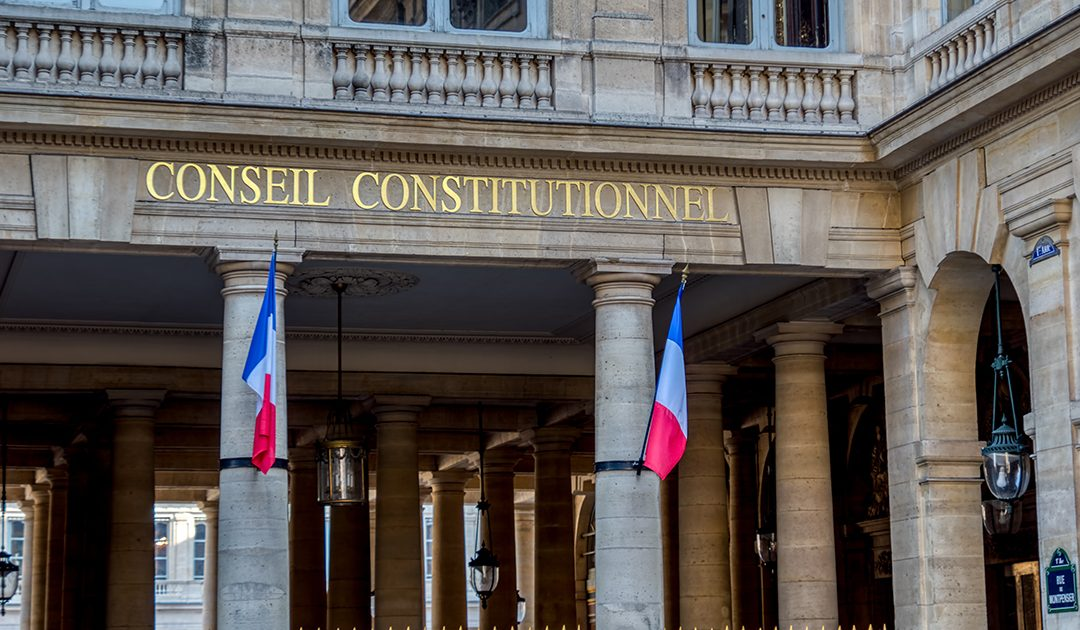 """The French Constitutional Court struck down the structural injunction mechanism introduced in the article 39 of """"Macron's Law"""""""